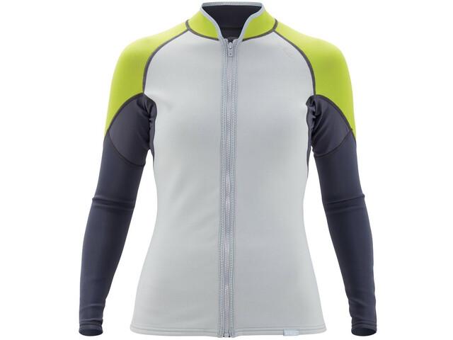 NRS HydroSkin 0.5 Jacket Women, wit/zwart